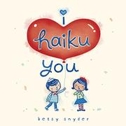 Book Cover for I HAIKU YOU