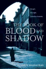 Cover art for THE BOOK OF BLOOD AND SHADOW