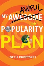 Book Cover for MY AWESOME/AWFUL POPULARITY PLAN
