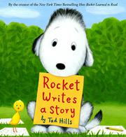 Cover art for ROCKET WRITES A STORY