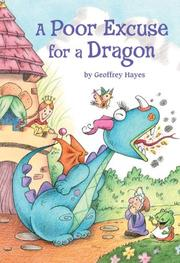 Book Cover for A POOR EXCUSE FOR A DRAGON