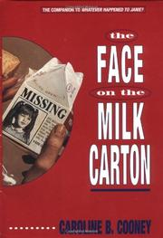 Cover art for THE FACE ON THE MILK CARTON