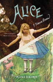 Cover art for ALICE I HAVE BEEN