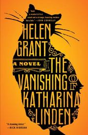 Cover art for THE VANISHING OF KATHARINA LINDEN