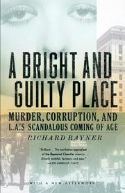 Cover art for A BRIGHT AND GUILTY PLACE