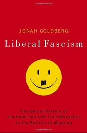 Cover art for LIBERAL FASCISM