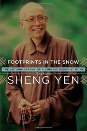 FOOTPRINTS IN THE SNOW by Sheng Yen