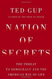 Cover art for NATION OF SECRETS