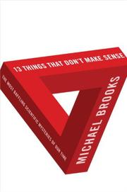 Book Cover for 13 THINGS THAT DON'T MAKE SENSE