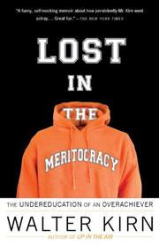 Book Cover for LOST IN THE MERITOCRACY