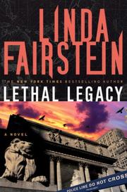 Book Cover for LETHAL LEGACY