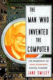 Book Cover for THE MAN WHO INVENTED THE COMPUTER