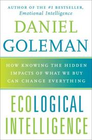 Book Cover for ECOLOGICAL INTELLIGENCE