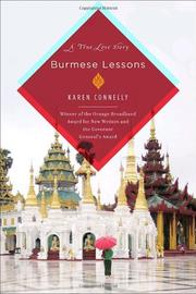 Cover art for BURMESE LESSONS