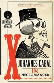 JOHANNES CABAL by Jonathan L.  Howard