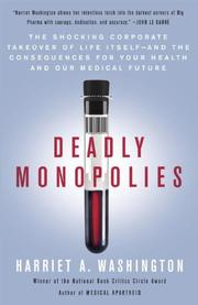 Cover art for DEADLY MONOPOLIES