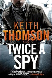 Cover art for TWICE A SPY