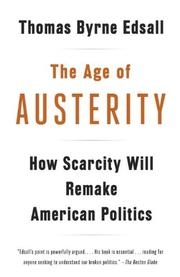 Cover art for THE AGE OF AUSTERITY