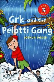 Book Cover for GRK AND THE PELOTTI GANG