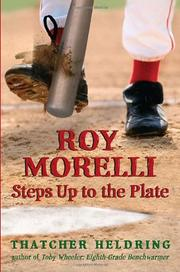 Book Cover for ROY MORELLI STEPS UP TO THE PLATE