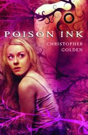 Cover art for POISON INK