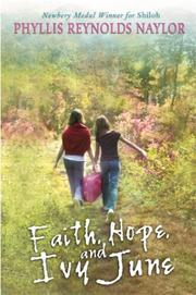 Book Cover for FAITH, HOPE, AND IVY JUNE