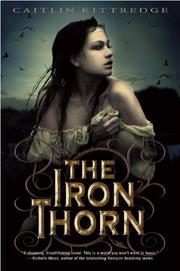 Cover art for THE IRON THORN