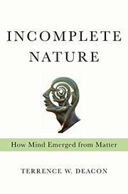 Book Cover for INCOMPLETE NATURE