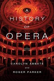 Book Cover for A HISTORY OF OPERA