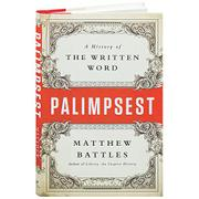 PALIMPSEST by Matthew Battles