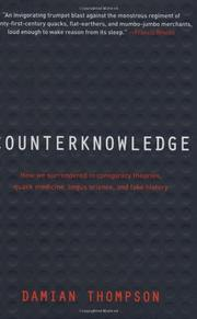 COUNTERKNOWLEDGE by Damian Thompson