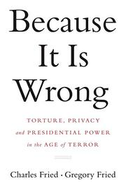 Cover art for BECAUSE IT IS WRONG