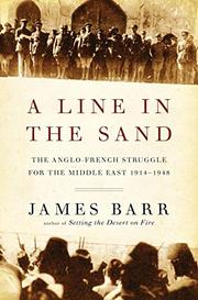 A LINE IN THE SAND by James Barr
