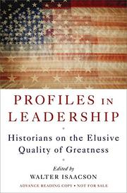 Book Cover for PROFILES IN LEADERSHIP