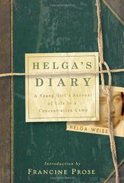 HELGA'S DIARY by Helga Weiss