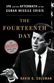 THE FOURTEENTH DAY by David G. Coleman