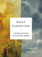 ELEGY LANDSCAPES by Stanley Plumly