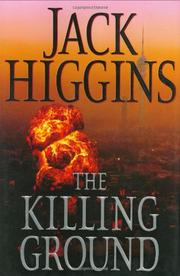 Cover art for THE KILLING GROUND