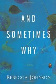 Cover art for AND SOMETIMES WHY