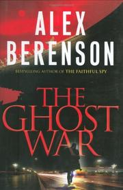 Cover art for THE GHOST WAR