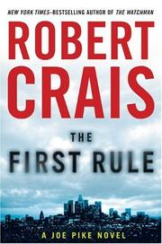 Book Cover for THE FIRST RULE