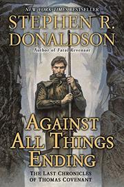 Cover art for AGAINST ALL THINGS ENDING