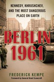 Book Cover for BERLIN 1961