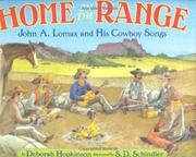Book Cover for HOME ON THE RANGE
