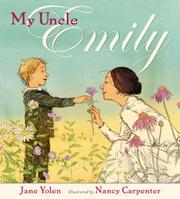 Book Cover for MY UNCLE EMILY