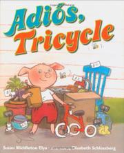 Book Cover for ADIÓS, TRICYCLE