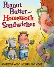 Book Cover for PEANUT BUTTER AND HOMEWORK SANDWICHES