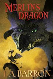 Cover art for MERLIN'S DRAGON