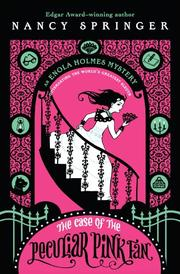 Cover art for THE CASE OF THE PECULIAR PINK FAN