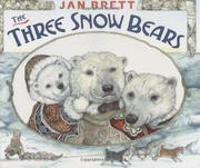 Book Cover for THE THREE SNOW BEARS